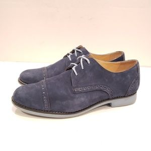 Cole Haan d42627 8b navy suede lace up